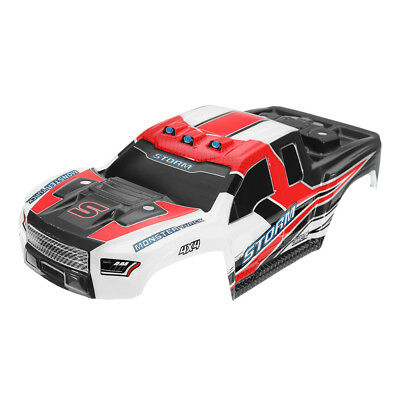 HS 18301/18302 1/18 2.4G 4WD Rc Car Parts Body Shell Blue Red Color No.18301-30/