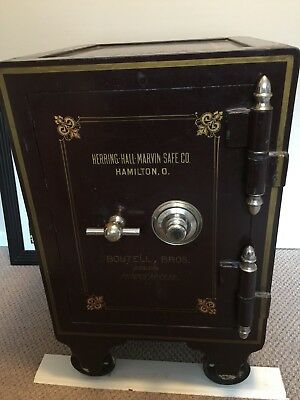 Antique SAFE Herring Hall Marvin Co.-Boutell Bros. Dealers Minneapolis Great