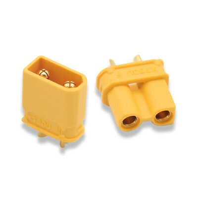 PC Part XT30-U XT30 Connector Female Male Bullet Plug for RC Toys Lipo Battery