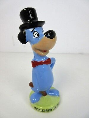 "Vintage 1960's Huckleberry Hound #610 Ceramic Figure 6"" tall Ideas Inc Des Moins"