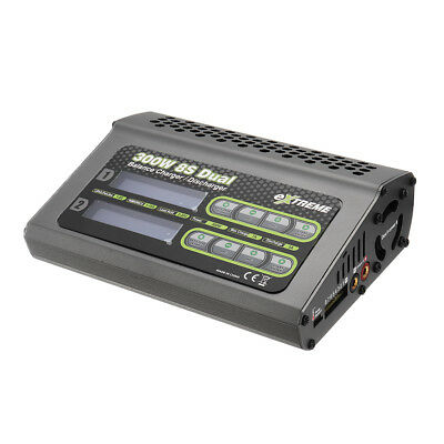 SKYRC Extreme 2X150W 7A Dual DC Balance Charger Discharger For 1-8S Battery