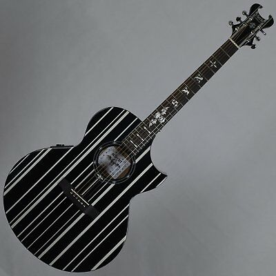 Schecter Signature Synyster Gates Syn J Acoustic Electric Guitar In Gloss Bla.. Acoustic Electric Guitars Consumers First