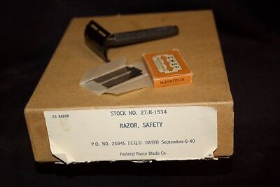 WWII Original US Army PX Safety Razor