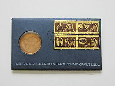 1972 American Revolution Bicentennial Commemorative Coin Medal