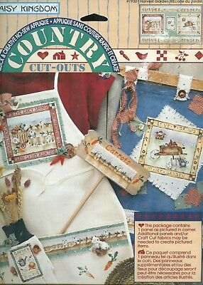 "Country Patches for Applique-/""Harvest Garden/"" by P /& P for  Daisy Kingdom"