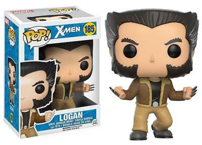 Marvel Comics X-Men Logan / Wolverine Vinyl POP! Figure Toy #185 FUNKO NEW MIB