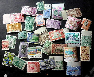 Br. Commonwealth  Mint Selection Many Engraved Issues Jamaica/bermuda/india/fiji