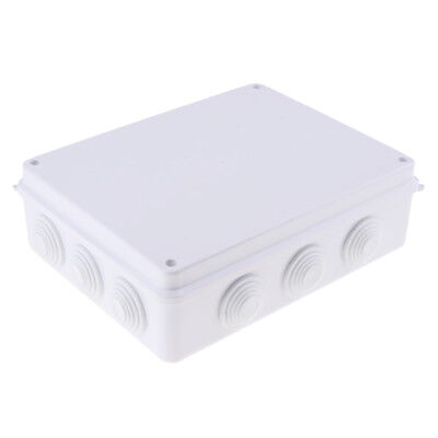 ABS Electronic Project Enclosure Plastic Case Screw Junction Box Waterproof