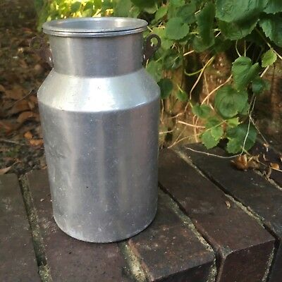 Vintage Small Blow Milk Churn