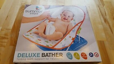 BABY BATH brand new boxed & sealed for new born up to 9kg for use in adult bath