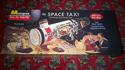 Monogram The Space Taxi  von Willy Ley in OVP