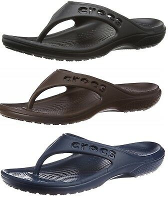 Crocs Adults Mens Baya Summer Classic Flip Flops - SIZE M11 AND M12 ONLY