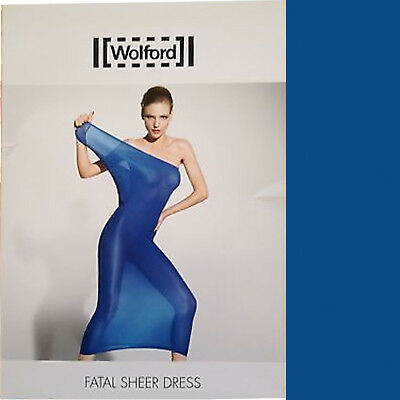 Wolford Fatal Sheer Dress • S • regatta ..... ist als Rock Top / Kleid zu tragen