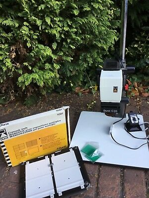 DURST C35 Photographic Enlarger &Exposure Easel(printing/processing)Timer Switch