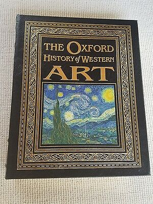 The Oxford History Of Western Art  Easton Press Leather