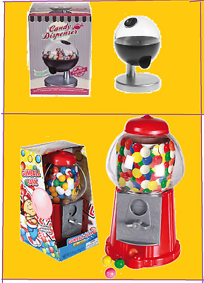 Gum Gumball Machine & Touch Sensor Dispenser Sweet Bubble Candy Kids Gift Toys