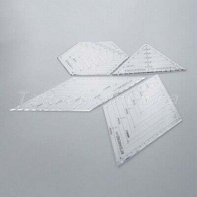 Sewing Patchwork Quilting Ruler Transparent Handmade Tailor Ruler For Home Tool