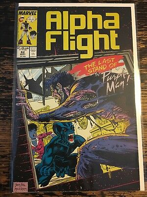 Alpha Flight #62 (Marvel, 1988) Free Combine Shipping