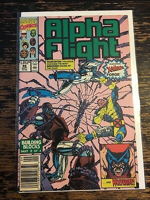 Alpha Flight #88 Jim Lee (Marvel, 1990) Free Combine Shipping