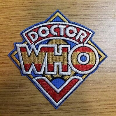 Doctor Who Diamond Logo Patch 3 3/4 inches wide