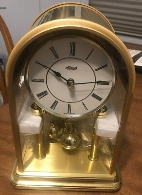 Hermle Mantle Clock New Beautiful Shiny!!!  FAST SHIPPING GUARANTEED