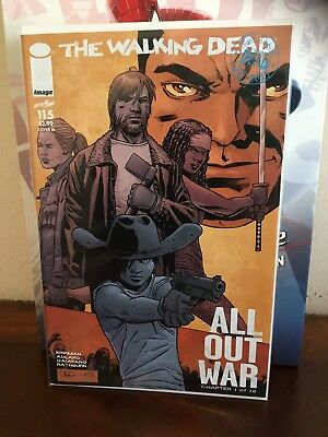 The Walking Dead #115 NM Midnight Release Variant Cover M