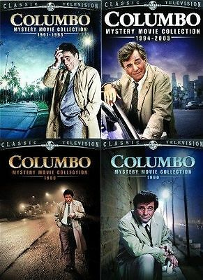 COLUMBO MYSTERY MOVIE COLLECTION LOT ALL 4 DVD Set 24 Film 1989-2003 Bundle Show