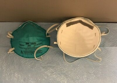 3M 1860S N95 Particulate Respirator and Surgical Mask, Small - lot of 2 masks