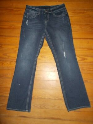 Truth Be Told Naked Low Rise Boot Cut Denim Jeans Size 25,26,27,28,29 NWT