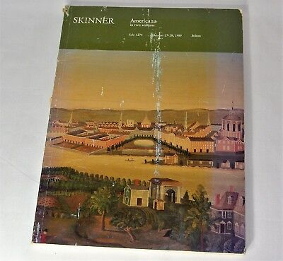 Skinner Americana In Two Sessions Auction Catalog 1989