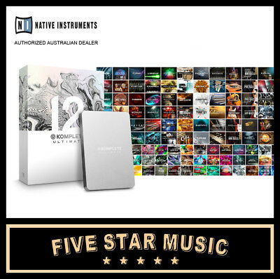 Native Instruments Ni Komplete 12 Ultimate Collector's Edition New K12 Software