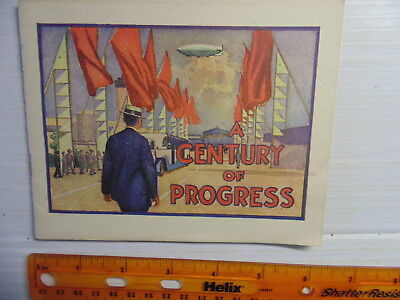 1933 Miles Laboratories (Alka Seltzer etc) Booklet Century Of Progress Warsaw IN