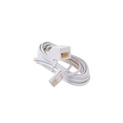 Dencon 20m Telephone Extension Cable Lead Phone Fax UK BT HIGH QUALITY Fast Post