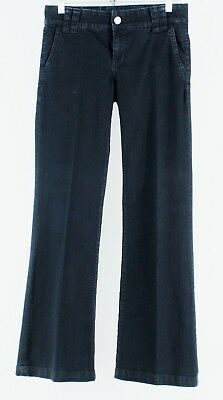 Kut From The Kloth Sz 2 Navy Cotton Poly Blend Jeans H204