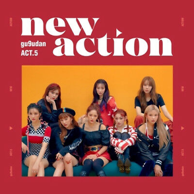 GUGUDAN [ACT.5 NEW ACTION] 3rd Mini Album CD+POSTER+Photo Book+Photo Card SEALED