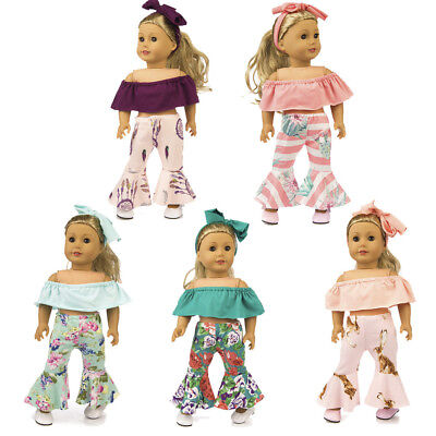 Handmade Retro Suit Clothes Dress Accessories For 18 inch American Girl Doll