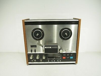 VIntage Teac 2300S Reel to Reel Working And Excellent Condition - Complete Ready
