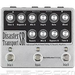 Earthquaker Devices Disaster Transport SR Pedal - Used + Tone Bakery Creme Fraic