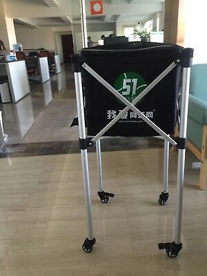 New LIGHTWEIGHT STURDY TENNIS BALL CART Extra bag for Other 150 Balls AU stock