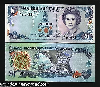 CAYMAN ISLANDS 1 Dollar P30 2003 X 10 PCS COMMEMORATIVE QUEEN UNC MONEY BANKNOTE
