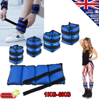 Wrist Ankle Weights Women Resistance Strength Training Exercise Bracelets Blue