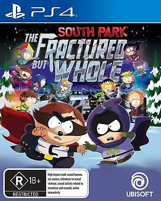 South Park: The Fractured But Whole Playstation 4 (PS4) Game Brand New Sealed