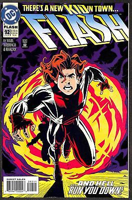 Flash #92 (Vol 2) 1st App Impulse (Bart Allen) VFN+