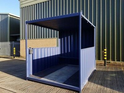 10ft Smoking Shelter Storage Container - North Wales