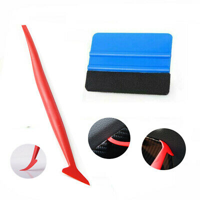 5in1 Window Tint Tool Kit DIY Craft Car Wrapping Squeegee TUCK Gasket Applicator