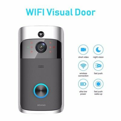 WiFi Doorbell Smart Wireless Doorbell Camera Video Phone Intercom Home Security