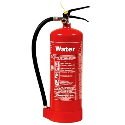 6L Water Fire Extinguisher NEW meets Uk Fire Regulations FREE DELIVERY