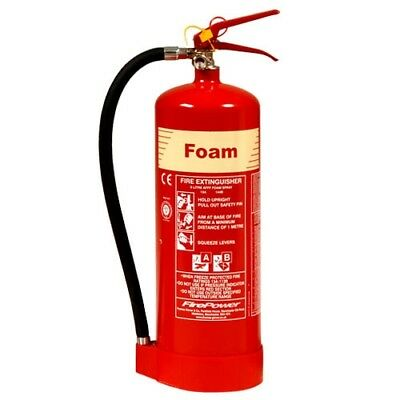 Foam Fire Extinguisher 3L 6L 9L meets UK Fire Regs FREE DELIVERY