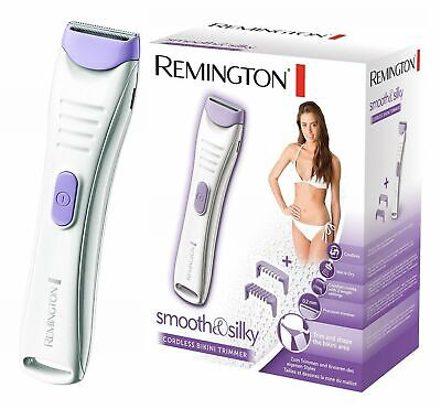 Remington BKT4000 Smooth & Silky Cordless Wet & Dry Women's Bikini Trimmer /NEW