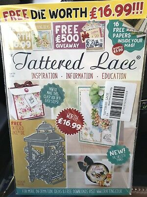 Tattered Lace Magazine Issue 59 with free lantern die and papers